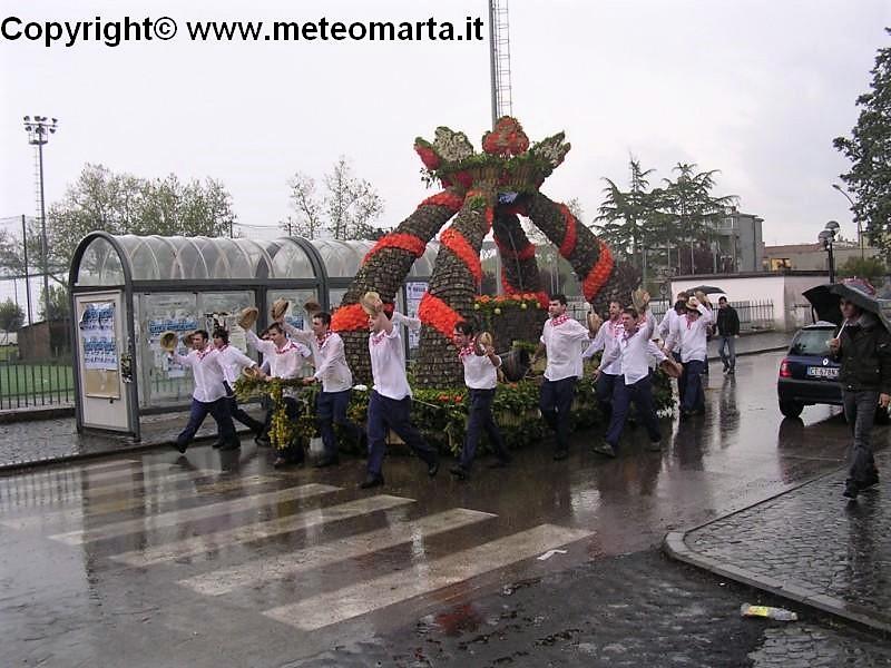 Festa Madonna del Monte, Barabbata di Marta (VT) sul lago di Bolsena